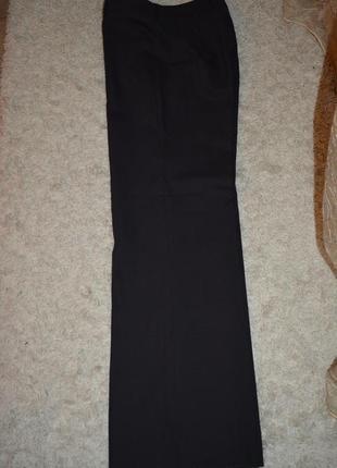 Теплые брюки прямые, шерсть, классика