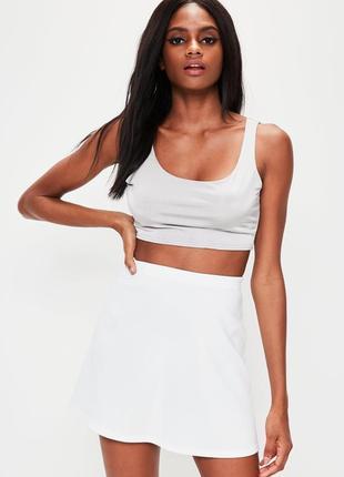 Белая юбка солнцеклешь