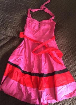 Платье миди итальянского бренда rinascimento
