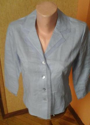 Льняной пиджак фирмы promod