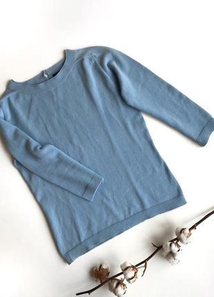 Голубой свитер max mara weekend