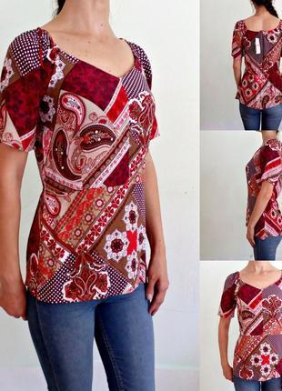 Новая легкая блуза