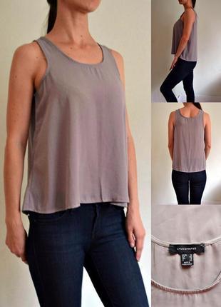 Универсальная базовая легкая блуза atmosphere
