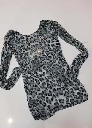 Красивенная ,брендовая, актуальная кофточка с леопардовым принтом