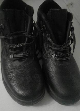 Ботинки мужские новые кожа