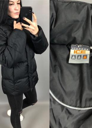 Куртка пуховик пухан пух перо ice