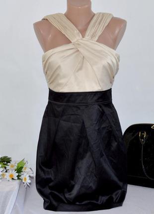 Брендовое нарядное вечернее платье миди new look этикетка