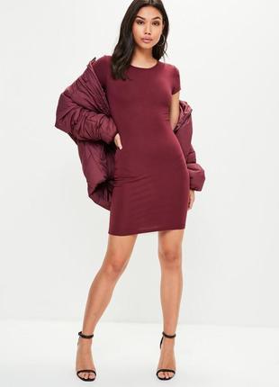 Шикарное трикотажное мини платье