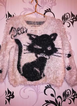 Супер пушистый свитер