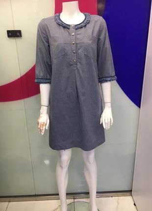 Джинсовое платье m/l