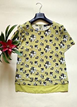 Красивая блуза в цветочный принт 20
