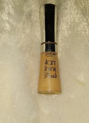 L'oreal paris glam shine blush. блеск для губ, №151 оттенок.