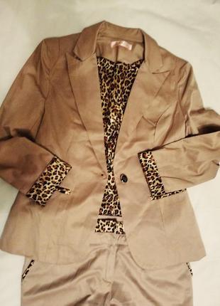 #lulumary #брючный костюм #бежевый#р50  классика