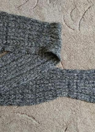 Брендовий шарф чоловічий в'язаний з бахромою [німеччина] (мужской)