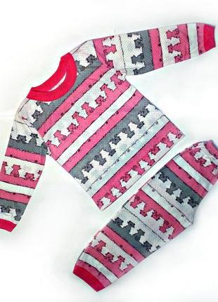 Пижама детская в котиках🍧🍧🍧