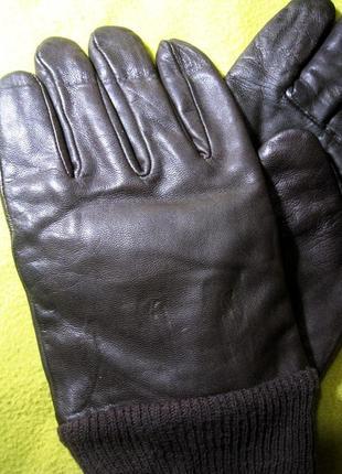 Кожаные перчатки  от канадской компании golden leaf  р-р 10