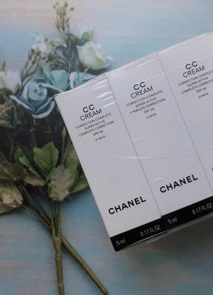 Тональный крем chanel cc cream