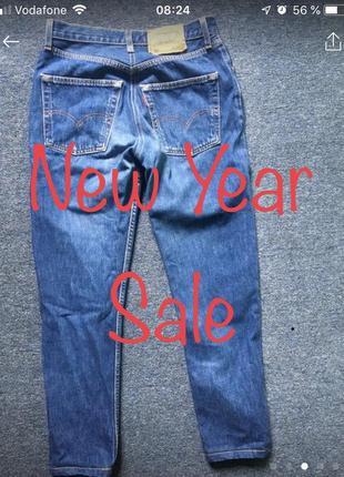 Винтажные джинсы levis 501
