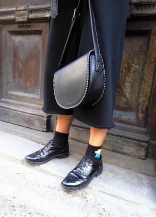 ... Женская сумка reserved лимитированная коллекция черного цвета2 ... e0d8a7d0cb43d