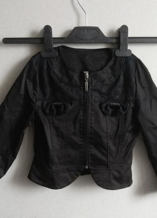 Пиджак с баской школьный
