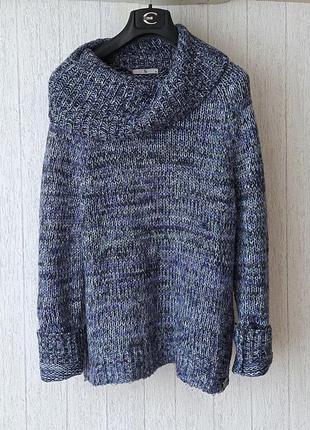 Невероятно красивый теплый свитер tu.
