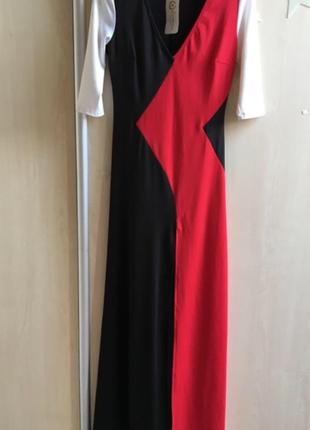 Платье вечернее нарядное в пол длинное