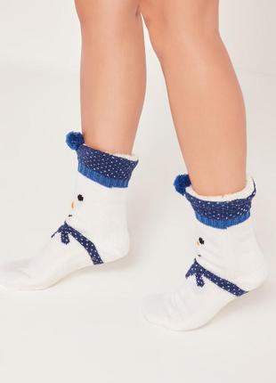 Теплющие новогодние носки