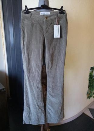 Тренд сезона,велюровые брюки《хаки》,42-44р,высокий рост1 фото