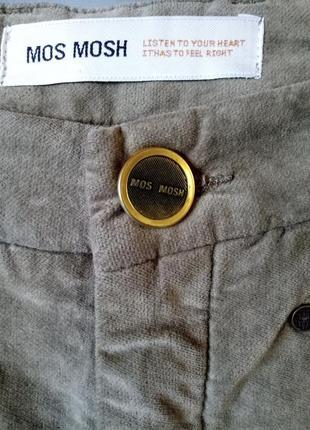 Тренд сезона,велюровые брюки《хаки》,42-44р,высокий рост2 фото
