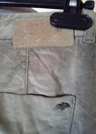 Тренд сезона,велюровые брюки《хаки》,42-44р,высокий рост3 фото
