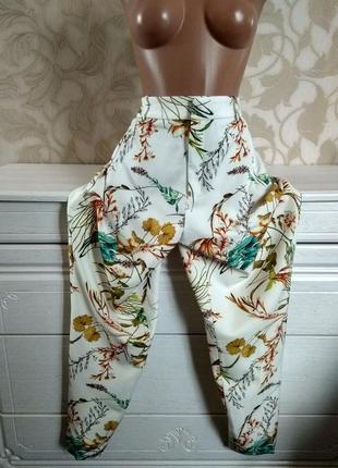 Zara стильные брюки