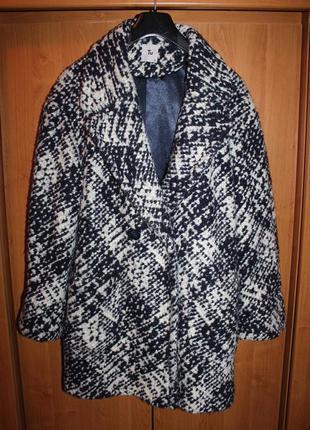 Стильное пальто-бойфренд tu для стильной девушки