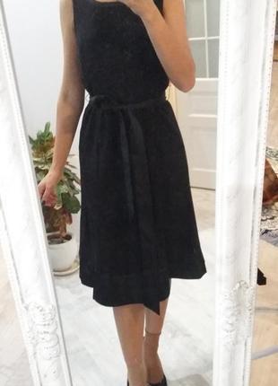 Строгое классическое платье сарафан