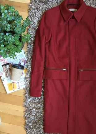 Крутое пальто из шерсти marc o polo. новое!