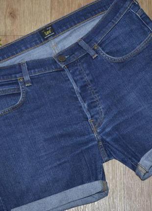 Стильные,брендовые шорты  от известной торговой марки lee(ли)1