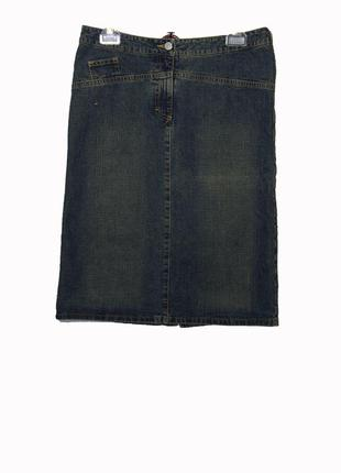William &delvin стильная джинсовая юбка карандаш