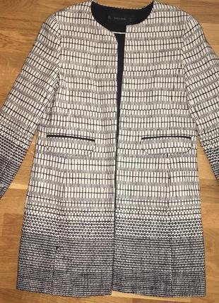 Кардиган zara кофта накидка пиджак жакет