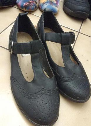 Туфли, классика,без каблука