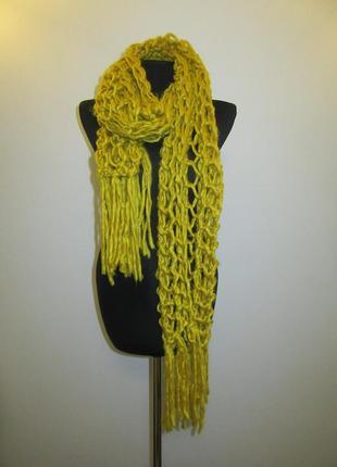 Новый шарф steps