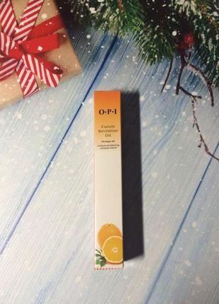 Масло для кутикулы в карандаше o.p.i. апельсин