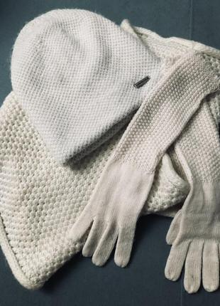 Зимний комплект из шерсти альпаки