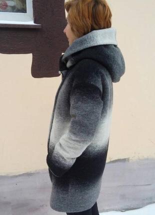 Зимнее женское пальто оверсайз grislav