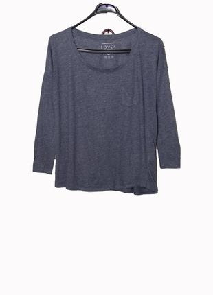 Стильная кофта пуловер оверсайз uk10
