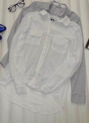 Рубашка шифоновая new look