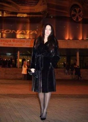 Норковая шуба copengaghen furs