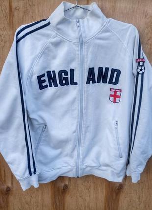 Прикольная олимпика england белая для настоящих фанатов