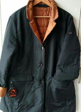 Двухсторонняя куртка полупальто peggy-ho