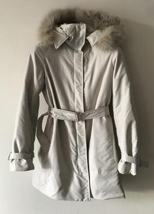 's max mara пуховое пальто, парка