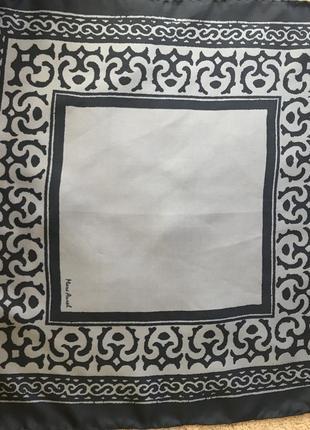 Фирменный шелковый платок mark laurel
