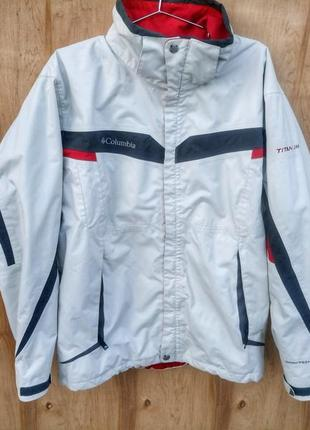 Куртка columbia лыжная белая
